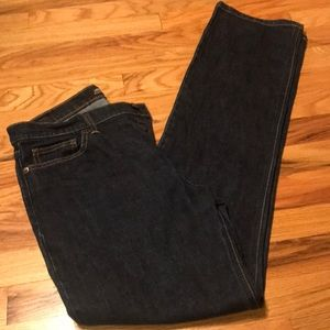 VS London Jean Dark Wash Stretch Jeans - Size 10